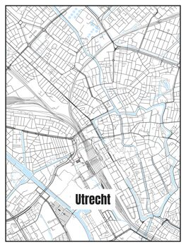 Mapa Utrecht