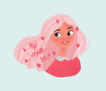 Ilustracja Valentines