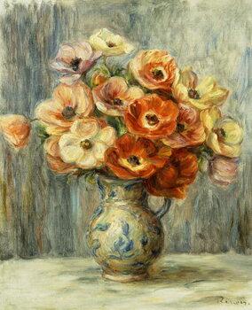 Reproduction de Tableau Vase d'Anemones,