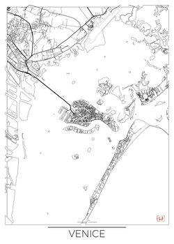 Mapa Venice