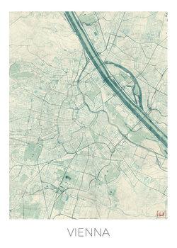 Kaart Vienna