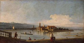 Stampa artistica View of the Isles of San Michele, San Cristoforo and Murano,