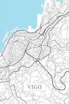 Mapa Vigo white