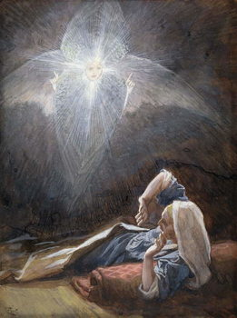 Kunsttryk Vision of St. Joseph