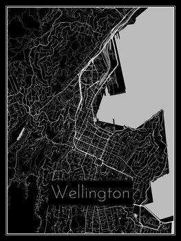 Mapa Wellington