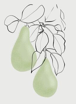 Illustrazione Wen pears