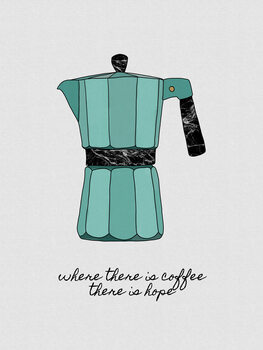Illustration Where There is Coffee