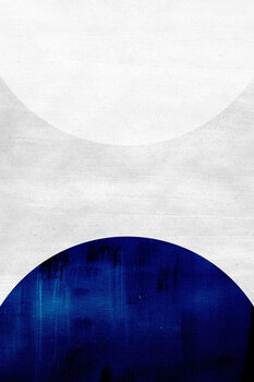 Ilustrace White & cobalt