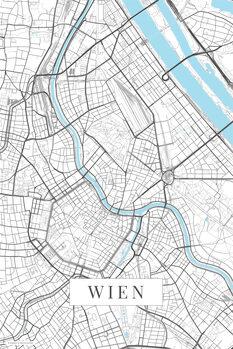 Harta Wien white