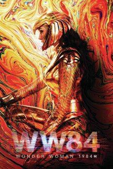 Konsttryck Wonder Woman - 1984