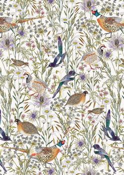 Obrazová reprodukce  Woodland Edge Birds
