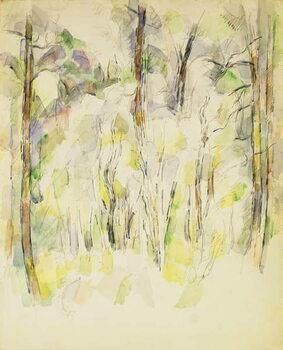 Reprodukcija umjetnosti Woodland Scene