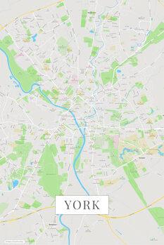 Mapa York color
