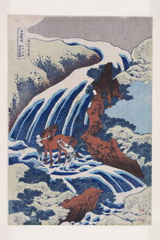 Obrazová reprodukce Yoshitsune's Horse-washing Falls