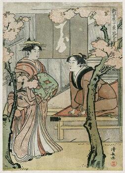 Obrazová reprodukce Yoshiwara