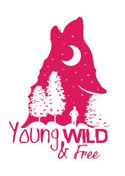 Kunst fotografie Young, Wild & Free - Pink