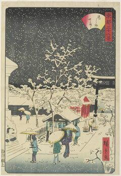 Kunstdruck Yushima Shrine, September 1862