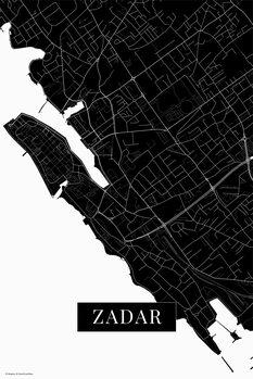 Χάρτης Zadar black