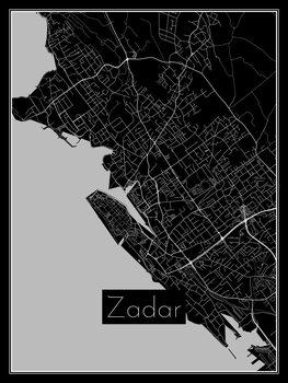 Mapa Zadar