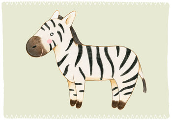 Ilustracja Zebra