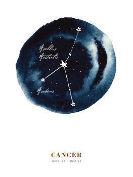 Ilustrace Zodiac - Cancer