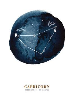 Ilustrace Zodiac - Capricorn