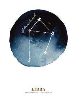 Ilustratie Zodiac - Libra