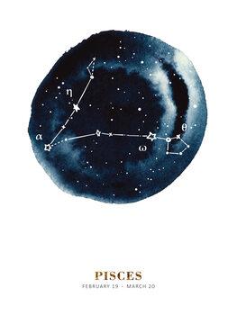 Ilustracija Zodiac - Pisces