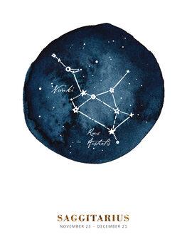 Illustrazione Zodiac - Saggitarius