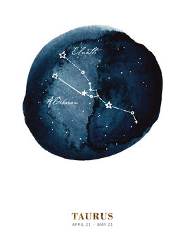 Ilustratie Zodiac - Taurus