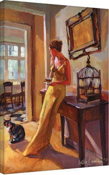 Plagát Canvas Ashka Lowman - Autumn Gold II