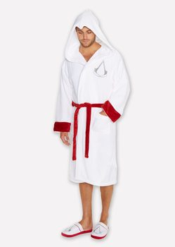 halat de baie Assasins Creed - White Robe Logo