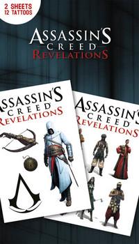 Assassin's Creed Relevations matrica tetoválás