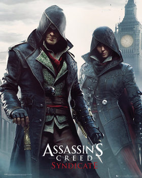 Assassin's Creed Syndicate - Siblings - плакат (poster)