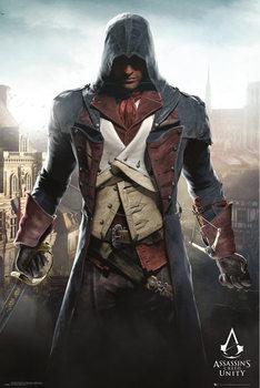 Assassin's Creed Unity - Cityscape плакат