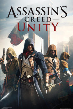 Assassin's Creed Unity - Cover  плакат