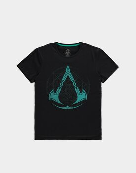 Tricou Assassin's Creed: Valhalla - Crest Grid
