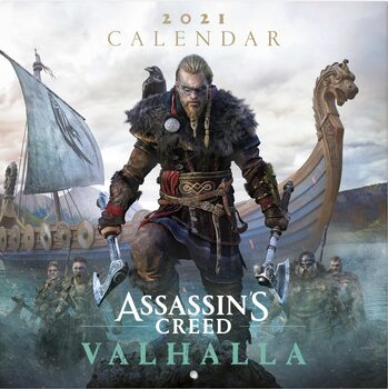Ημερολόγιο 2021 Assassin's Creed: Valhalla
