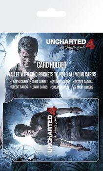 Uncharted 4 - Keyart Astuccio porta tessere