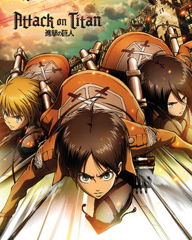 Attack on Titan - One Sheet - плакат (poster)