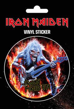 Iron Maiden - Fear Live Flames Aufkleber