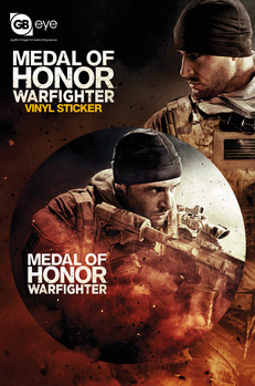 MEDAL OF HONOR - sniper - Aufkleber