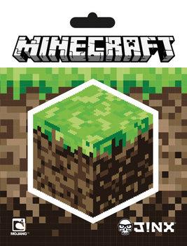 Minecraft - Block Aufkleber
