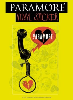 Sticker PARAMORE – phone