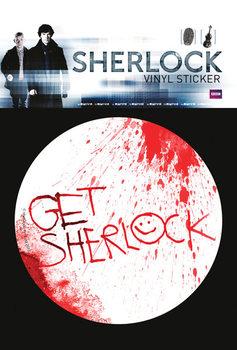 Sherlock - Get Sherlock - Aufkleber