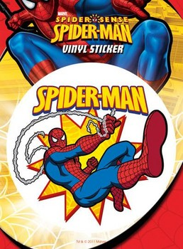 Sticker SPIDER-MAN – swinging