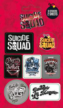 Suicide Squad - Mix - Aufkleber