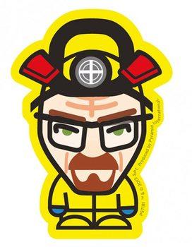 Breaking Bad - Heisenberg yellow Autocolant
