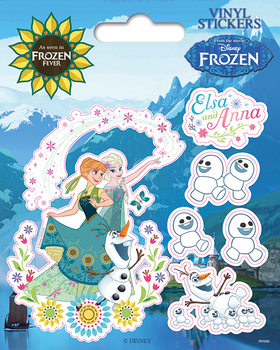 Frozen Fever Autocolant