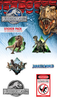 Jurassic World - Mix Autocolant